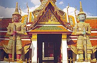 Gate No.1, Koeysadet (Front) Gate, Wat  Phra Kaew