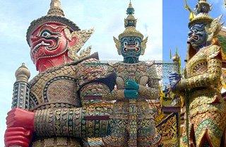 Giant, Wat Phra Kaew, Bangkok