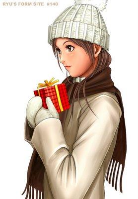 winter clothes - ropa de invierno - regalo - present