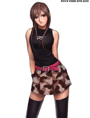 camouflage skirt - camo skirt -falda camuflada