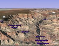 The Grand Canyon (click to enlarge)