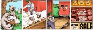 Sheepy Fox Intelligence :: PBF - The Perry Bible Fellowship - a comic strip by Nicholas Gurewitch