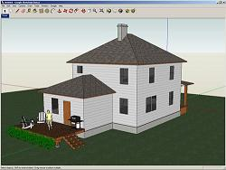 Google Sketchup Free Is An Easy To Learn 3d Modeling Program Whose Few Simple Tools Enable You To Create 3d Models Of Houses Sheds Decks Home Additions
