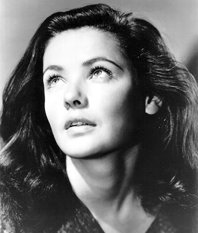 gene tierney eye color