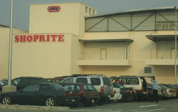 Close up of Mall with Shoprite in Foreview