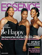 Essence Magazine Jan 2006 cover