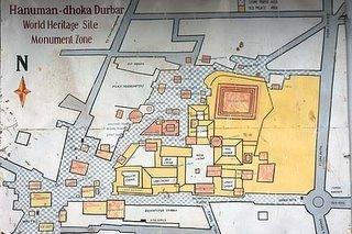 杜爾巴廣場地圖