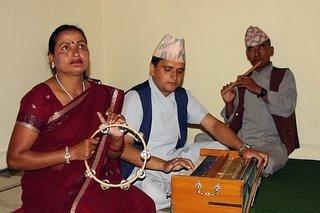 傳統樂器演唱