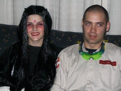 Ninja and Ghostbuster