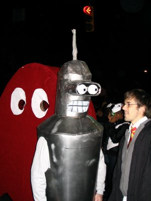 Sue from Pac Man, Bender and Harry Potter