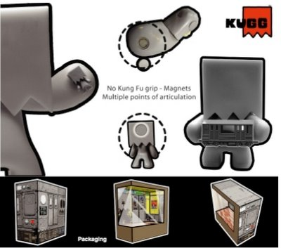 Kuggs magnets and packaging