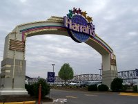Entrance to Harrah's Riverboat Casino