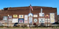 Founders Square mural in historic downtown Hopkinsville, KY