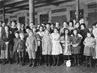 Emmigrant children, Ellis Island