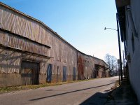 Old tobacco warehouse in Hopkinsville, KY