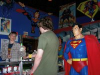 Inside the Superman Store