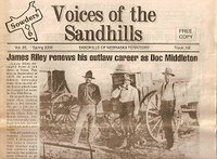 Voices of the Sandhills