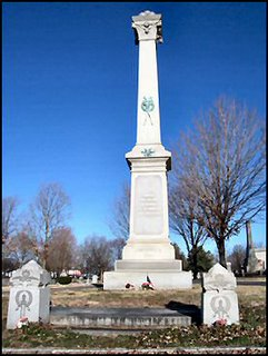 Monument to Unknown Confederate Solidiers of Camp Alcorn, Hopkinsville, KY