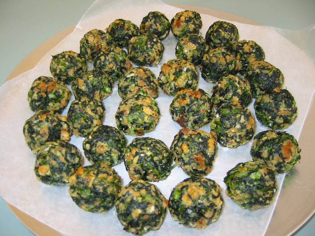 Spinach Balls Recipe Dishmaps