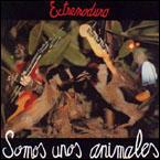 Carátula del disco de Extremoduro Somos unos animales
