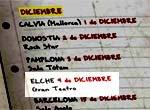 Calendario de conciertos:Iván Ferreiro en Elche