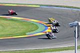 carrera moto gp en Ricardo Tormo