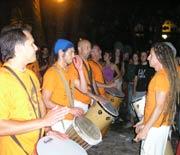 Sarabanda durante el Mestival de Elche