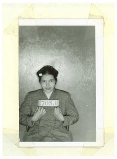 Mugshot of Rosa Parks