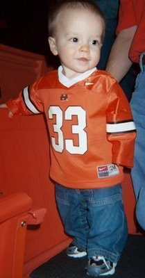Little Man at an OSU v. Texas Tech, February 2005