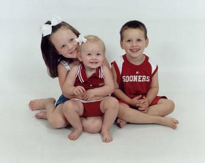AJ's nieces & nephew
