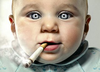 Hey, don't smoke!