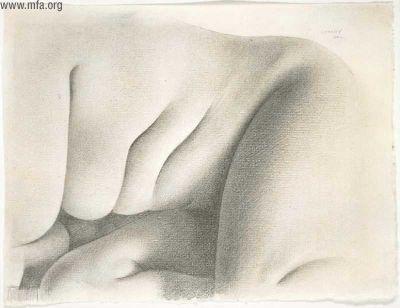 Charles Sheeler Drawings Charles Sheeler Nude