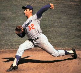 sandy koufax - number 32