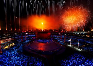 Opening ceremony of the Torino 2006 Winter Olympic Games