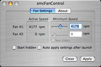 MacBook Heat and Fan Control