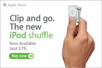 iPod Shuffle Sold Out