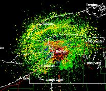 Doppler Radar Image