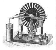Leyden jar and generator