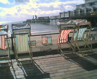 Deckchairs on the Prom - Sandown, Isle of Wight