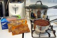 Pratik Yemekler – Çabuk yemek için hazır yemek içi