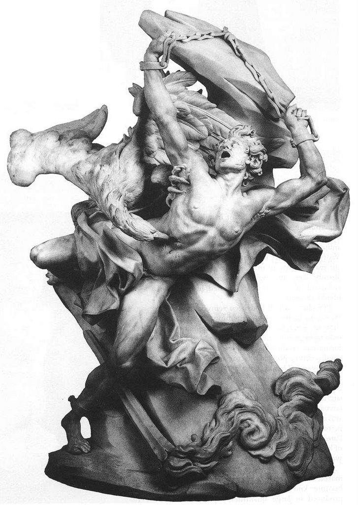 Prometheus Creating Man Vilhelm Konnander's we...