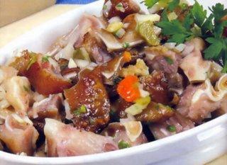 Tasca da elvira salade d 39 oreille - Comment cuisiner une rouelle de porc cocotte ...
