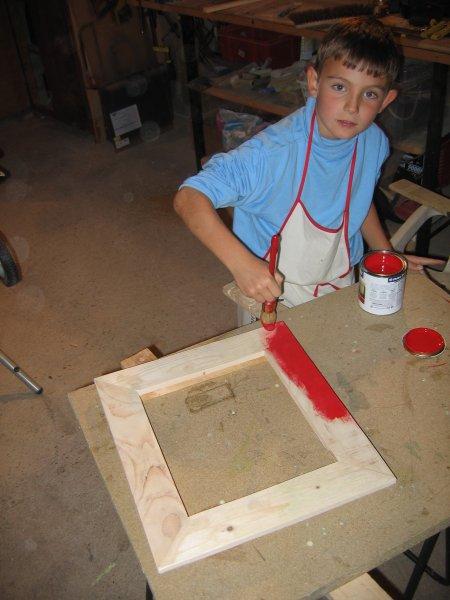 La cabane de vincent novembre 2006 for Fabriquer fenetre atelier bois