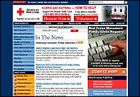 A genuine Red Cross Katrina phishing site
