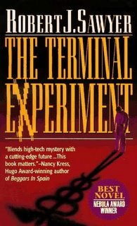 Science fiction writer Robert J. Sawyer - The Terminal Experiment