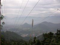 貓蘭山步道旁的視野