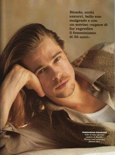 mens haircuts long -Brad Pitt Long hairstyles