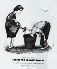 essay on introvert and extrovert