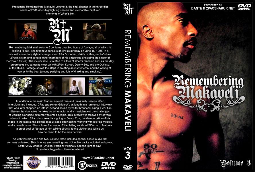 Tupac Album Cover Makaveli