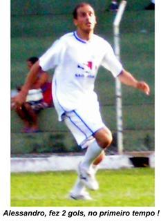 Alessandro, esperança de mais Gols